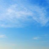 Clear blue sky Stock Photos
