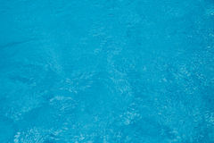Clear Blue Water Background. Clear fresh rippled blue water abstract texture royalty free stock images