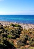 Spencer Gulf view at Point Lowly Stock Photo