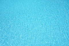 Clear Blue Water Swimming Pool Stock Image