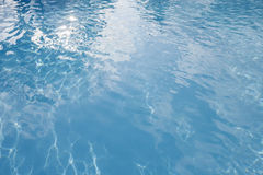 Clear blue water in swimming pool, Koh Pha Ngan, Thailand Royalty Free Stock Image