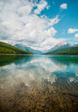 Clear Body of Water Across Mountains during Daytime Royalty Free Stock Photos