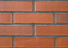 Clear brick wall Stock Images