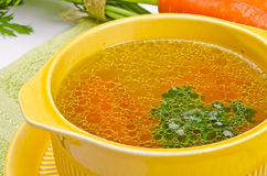 Clear broth Royalty Free Stock Photos