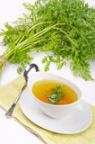 Clear broth Royalty Free Stock Image