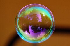 Clear Bubble Stock Photo