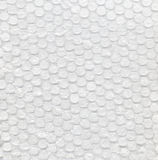 Clear Bubble Wrap. Page of clear bubbles on bubble wrap packaging material Stock Photos