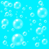 Clear Bubbles Texture Royalty Free Stock Image