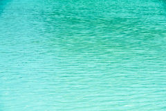 Clear And Calm Blue Ocean Water Stock Photography