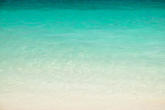 Clear claim blue sea. Andaman , Thailand Stock Image