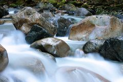 Clear, Cold, Creek royalty free stock photography