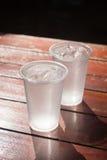 clear cold glass water Στοκ Εικόνες
