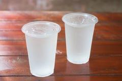 clear cold glass water Στοκ Φωτογραφίες