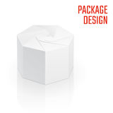 Clear Craft Box  1 Royalty Free Stock Image
