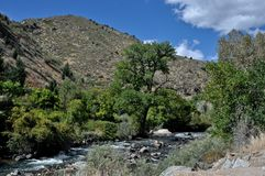 Clear Creek Canyon Stock Image