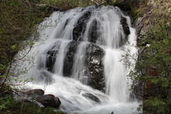 Clear Creek Waterfall Stock Images