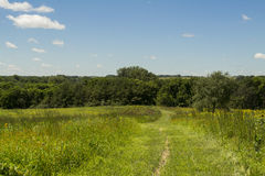 Clear Creek Wildlife Area - Jasper County, Iowa Royalty Free Stock Images
