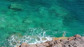 Clear crystal water, Mallorca Island, Balearic Islands, Spain Royalty Free Stock Image