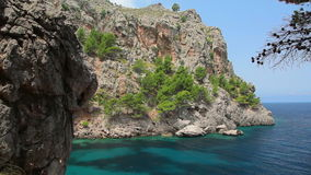 Clear crystal water, Mallorca Island, Balearic Islands, Spain Stock Photography