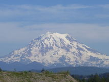 A clear day in the Pacific Northwest Royalty Free Stock Photos