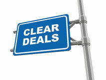 Clear deals Stock Photos