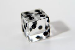 Clear Die. Photo of Clear Die - Part of Series stock photography