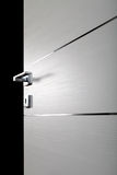 Clear door open d Stock Photos