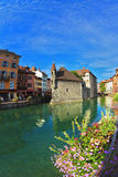 Clear early morning in Annecy Royalty Free Stock Image