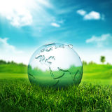 Clear Earth Concept. Royalty Free Stock Photo