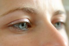 Clear eyes Royalty Free Stock Photos