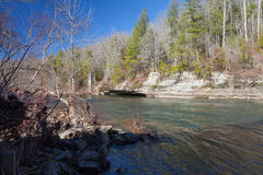 Clear Fork River Stock Photo
