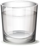 A clear glass Royalty Free Stock Photos