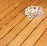 Glass ashtray Royalty Free Stock Image
