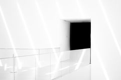 Clear Glass Barrier Royalty Free Stock Image