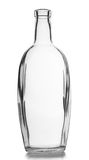 Clear glass bottle Royalty Free Stock Images