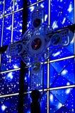 Clear glass cross Stock Photos