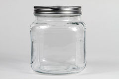 Clear Glass Jar Stock Images