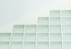 Clear glass wall Stock Photography