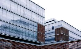 Clear Glass Windowed Low Rise Building Stock Photo