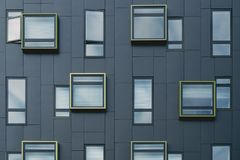 Clear Glass Windows Stock Image