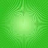 Clear Green Burst of Light Royalty Free Stock Image