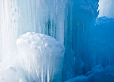 Clear Icicle Formation Stock Images