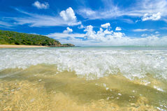 Clear Island waters Stock Images