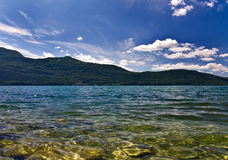 Clear lake Royalty Free Stock Photography