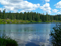 Clear Lake, Oregon. The serene waters of Clear Lake in Oregon Stock Photography