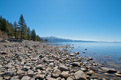 Clear Lake and Sky Royalty Free Stock Image
