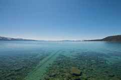 Clear Lake Tahoe Royalty Free Stock Photography