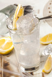 Clear lemon drink Royalty Free Stock Photo