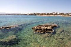 Clear mediterranean water stock photo