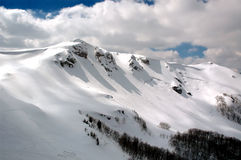 Clear Mountain. Top of the Mountain Bjelasica in Montenegro Stock Image